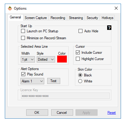 screen elf settings